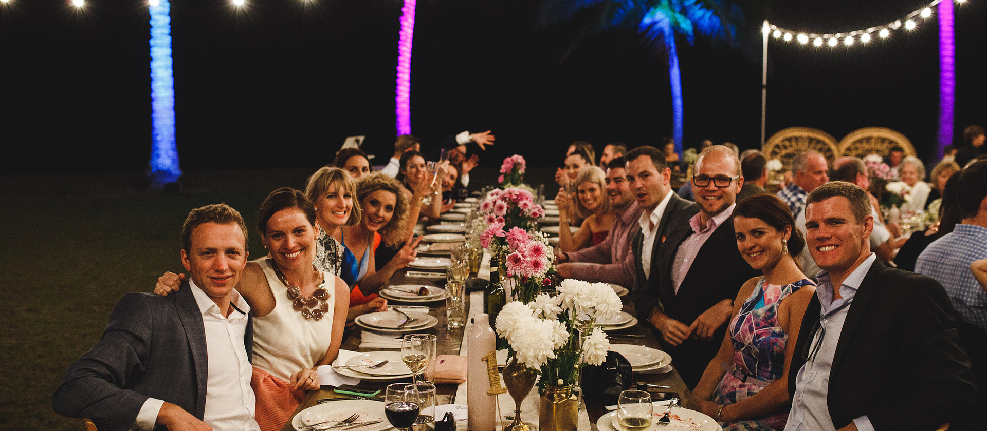 wedding catering port douglas